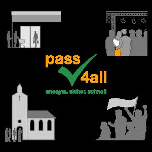 pass4all globale App zur Vachverfolgung von Kontakten
