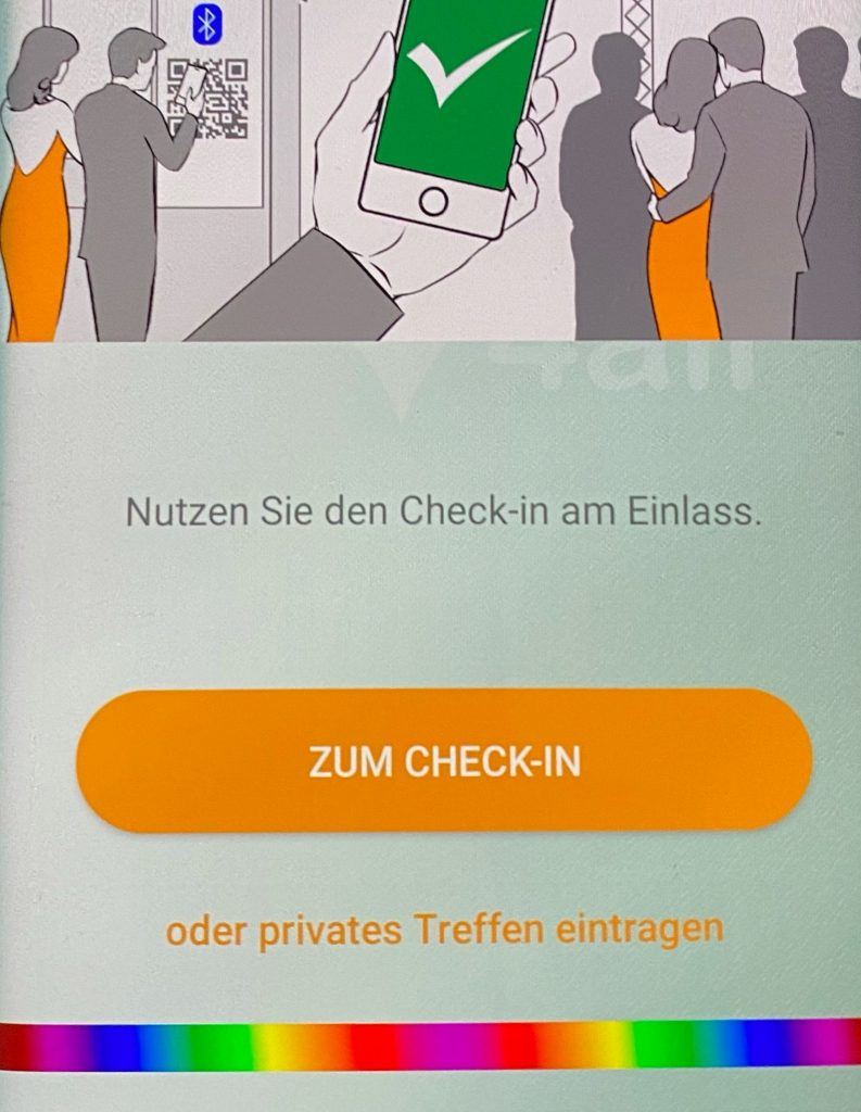 privates Kontakttagebuch